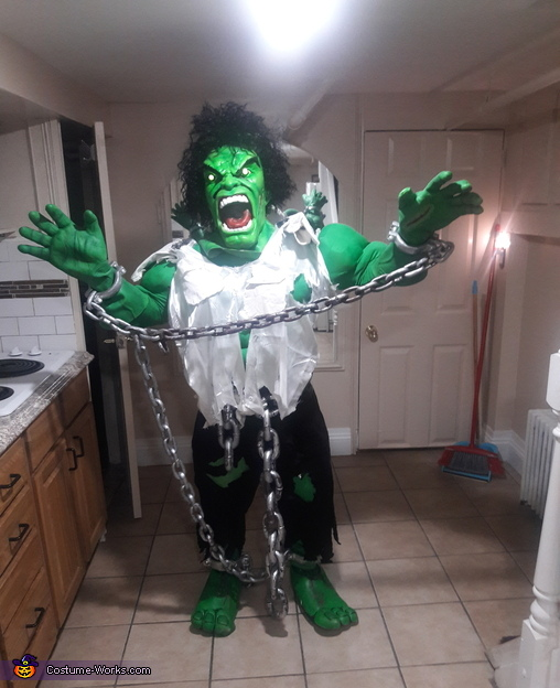 Hulk Homemade Costume