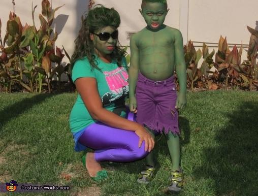 The Hulk and Mommy Hulk, Hulk Costume