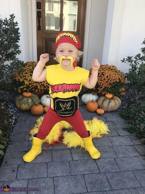 Hulk Hogan Homemade Costume