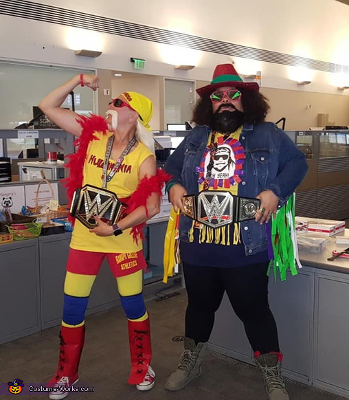 Hulk Hogan and Macho Man, Hulk Hogan Costume
