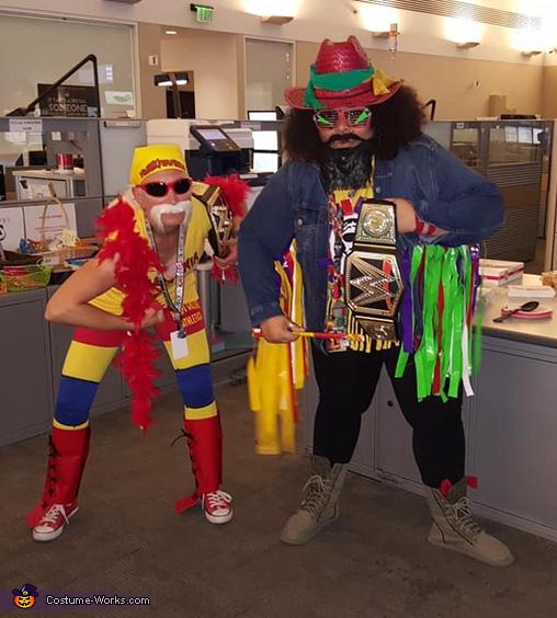 Hulk Hogan and Macho Man, Hulk Hogan Costume