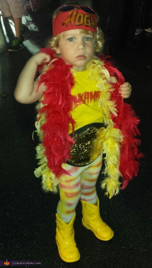 Flexin'!, Hulk Hogan Baby Costume