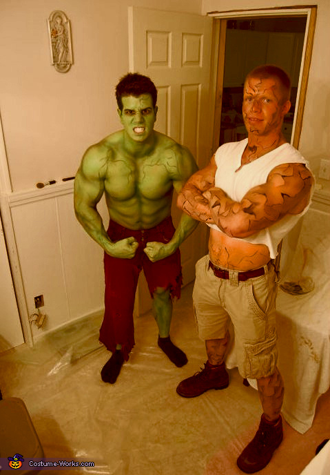 The Incredible Hulk and The Thing, The Incredible Hulk Costume