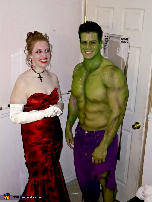 The Incredible Hulk and Vampire, The Incredible Hulk Costume