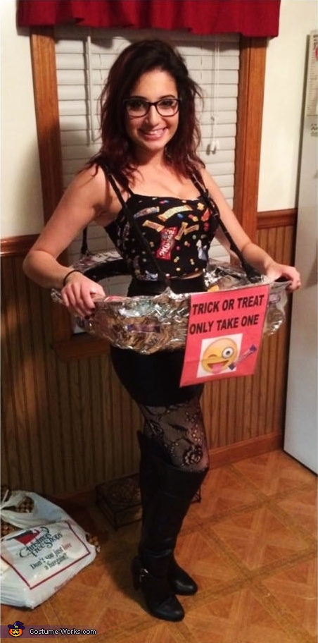 Human Candy Bowl Costume