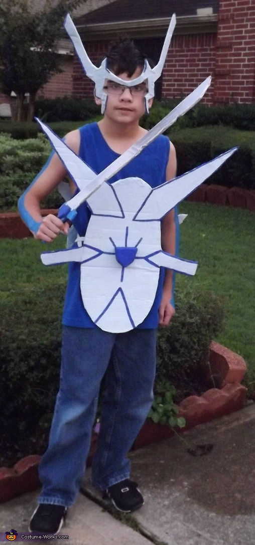 Human Dialga: Pokemon of Time Costume