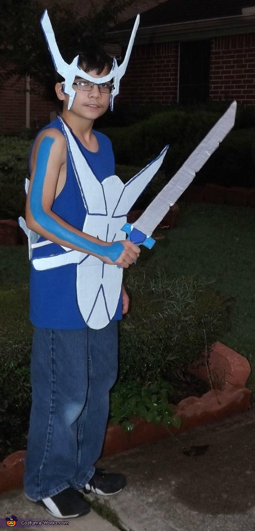 Check out that paint!, Human Dialga: Pokemon of Time Costume