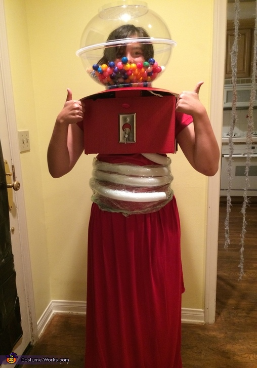 Human Gumball Machine Costume