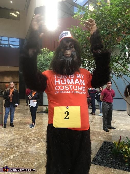 Human Costume (shhh...I'm a Sasquatch)