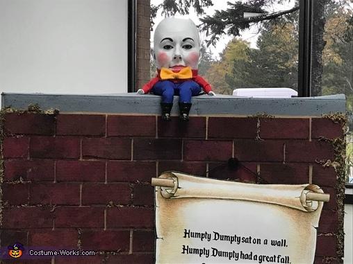Humpty Dumpty Homemade Costume