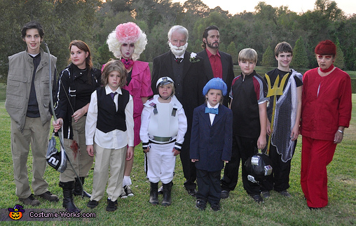 Hunger Games Cast Costume
