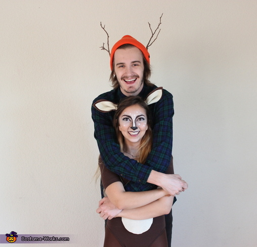 Hunter and a Deer, Hunter and a Deer Couples Costume