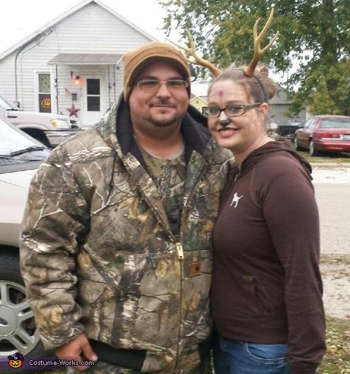 Hunter and Deer Costume