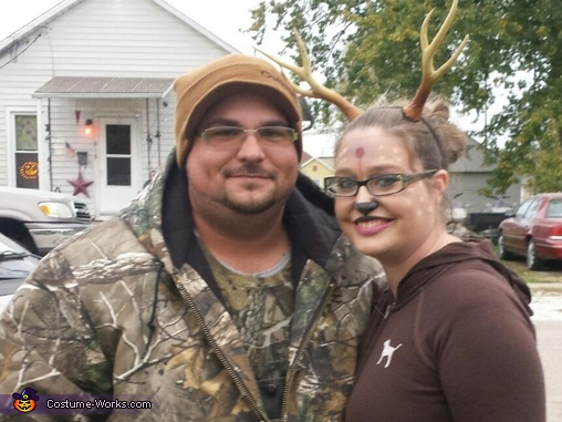 Hunter and Deer Homemade Costume