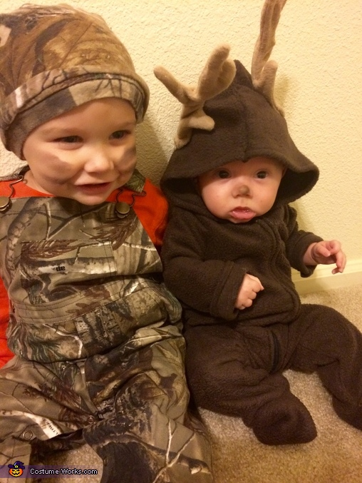 Hunter and his Deer Costume