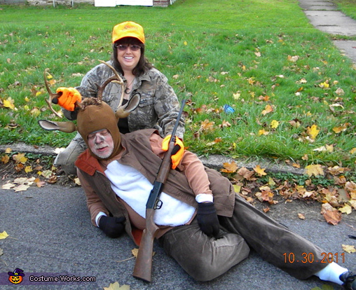 Hunter and Hunted Couple Costume