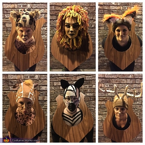 Hunter's Trophy Wall, Hunter's Trophy Wall Costume