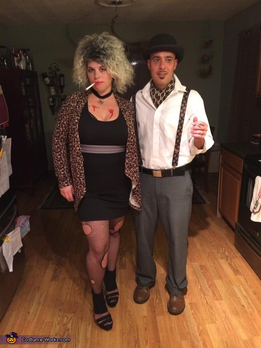 Hypodermic Sally and James Patrick Marsh Homemade Costume