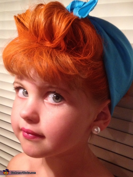 Lucy Updo, I Love Lucy Costume