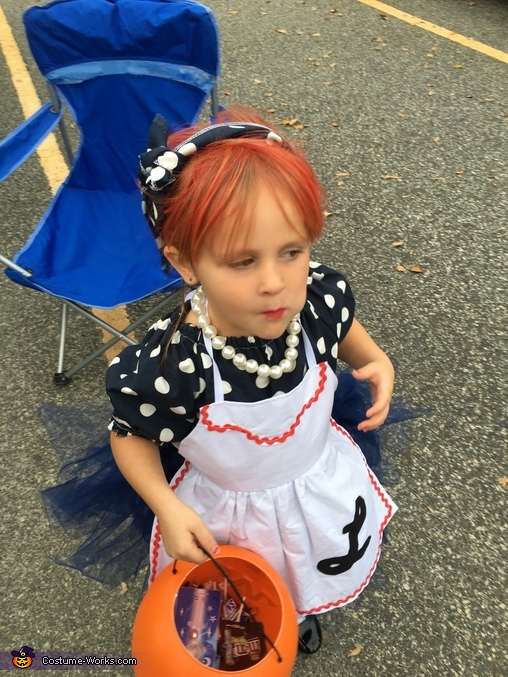 I Love Lucy Girl's Halloween Costume Idea