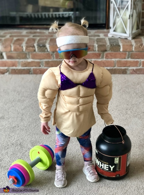 I Work Out Homemade Costume