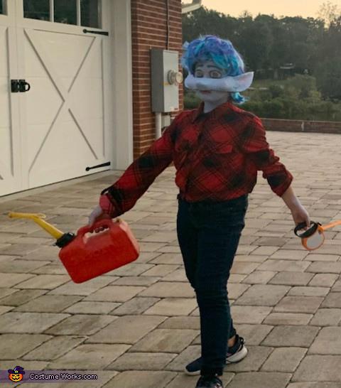 another photo of Ian walking, Ian Lightfoot Costume