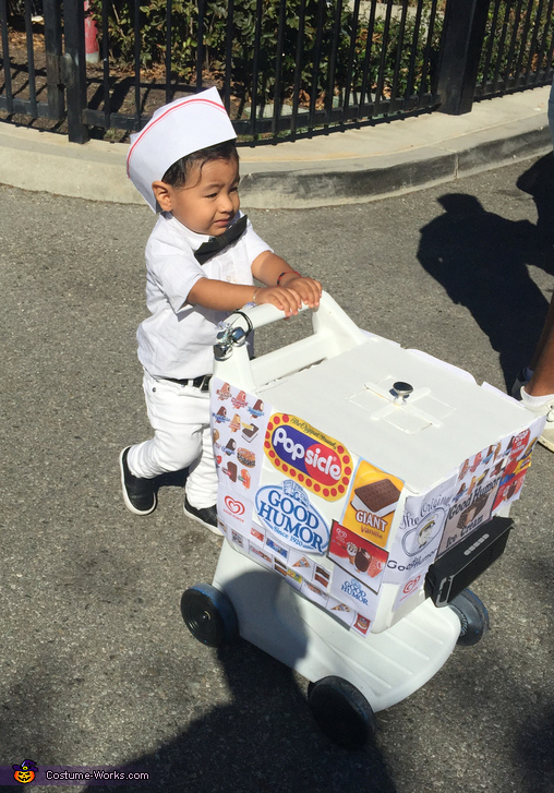 Ice Cream Boy Costume