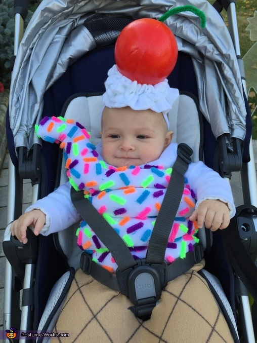 Cherry on top, Ice Cream Cone Costume