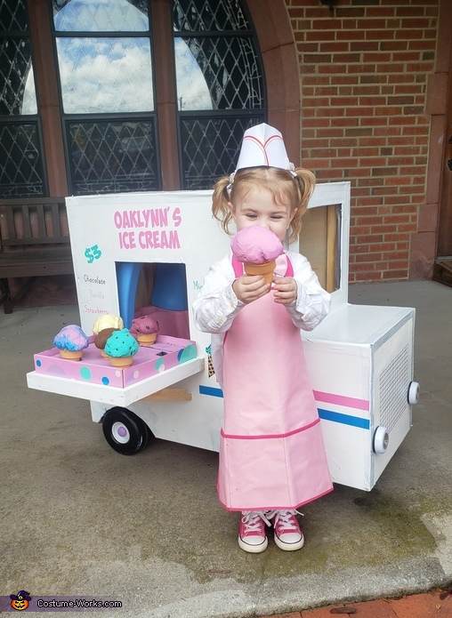 Ice Cream Girl Costume