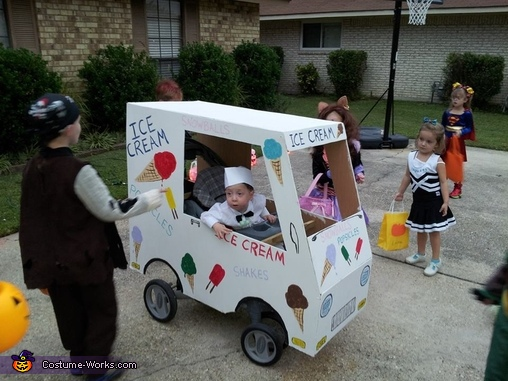 ICT2, Ice Cream Man Costume