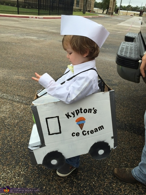 Ice Cream Man Costume DIY