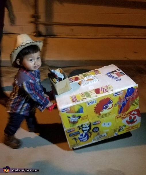 Ice Cream Man Costume