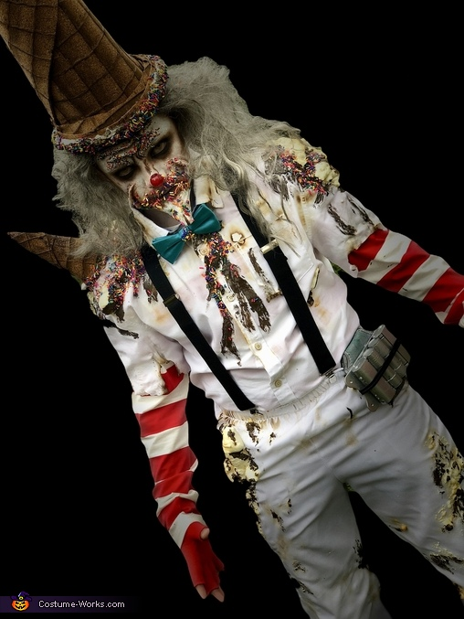 Ice Cream Man Homemade Costume