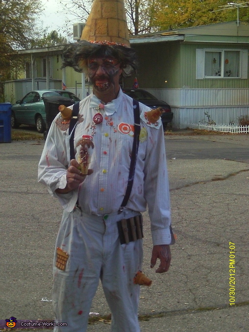 Face Off Ice Cream Man Costume