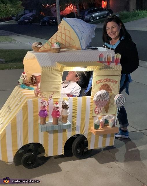 Ice Cream Truck Driver Costume