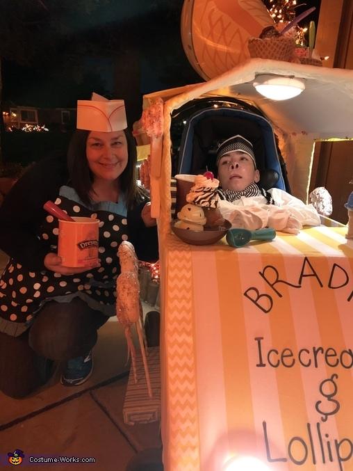 Ice Cream Truck Driver Homemade Costume