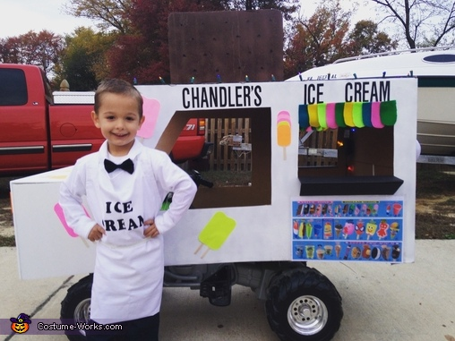 Ice Cream Truck Man Costume