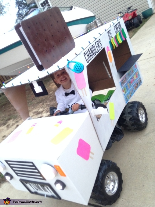Ice Cream Truck Man Homemade Costume