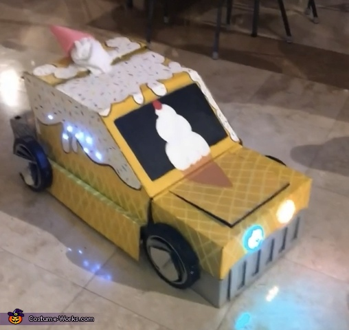 Ice Cream Truck Transformer Homemade Costume