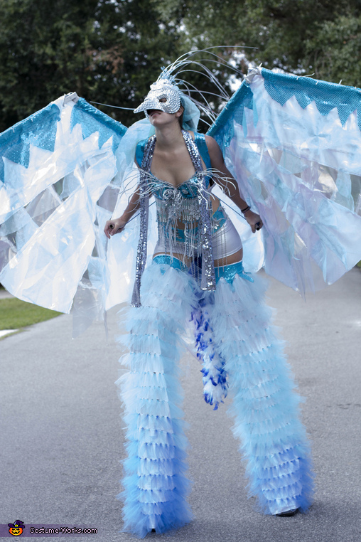 Ice Phoenix Homemade Costume