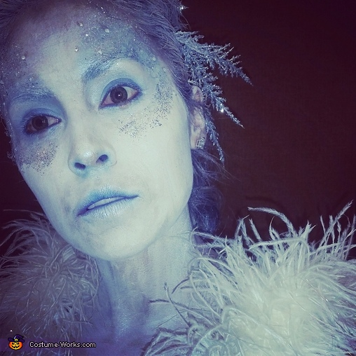 Ice Queen Homemade Costume
