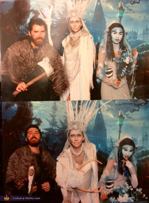 Group photo of my family, Ice Queen Costume