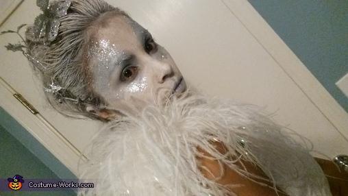 Ice Queen Homemade Costume