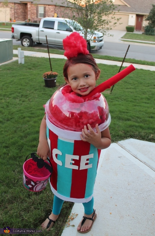 Icee from Texas Costume