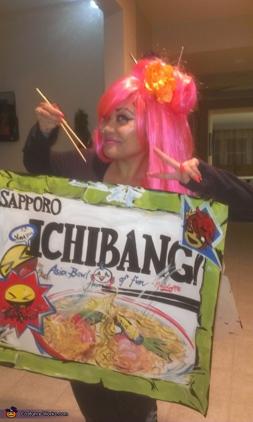 Ichiban Instant Noodle Costume