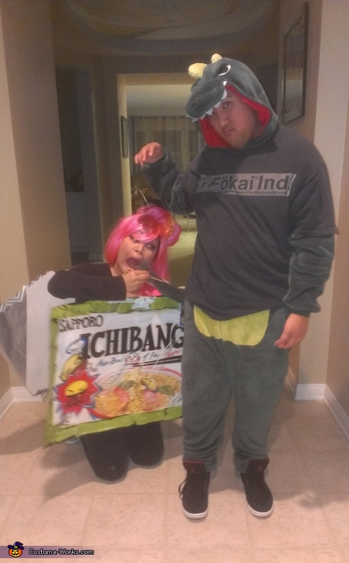 NOODLES AND DINO TAILS, Ichiban Instant Noodle Costume