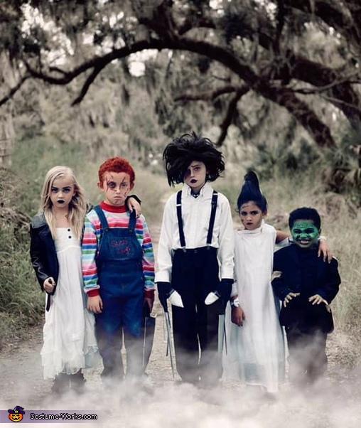 Iconic Halloween Movies Kids Costume