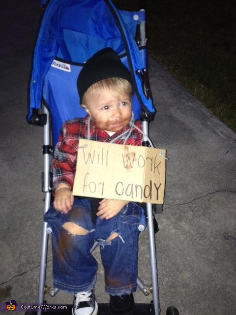 I'll work for candy, I'll work for Candy Costume