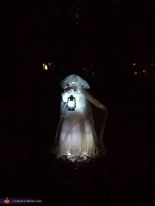 Illuminated Ghost Homemade Costume