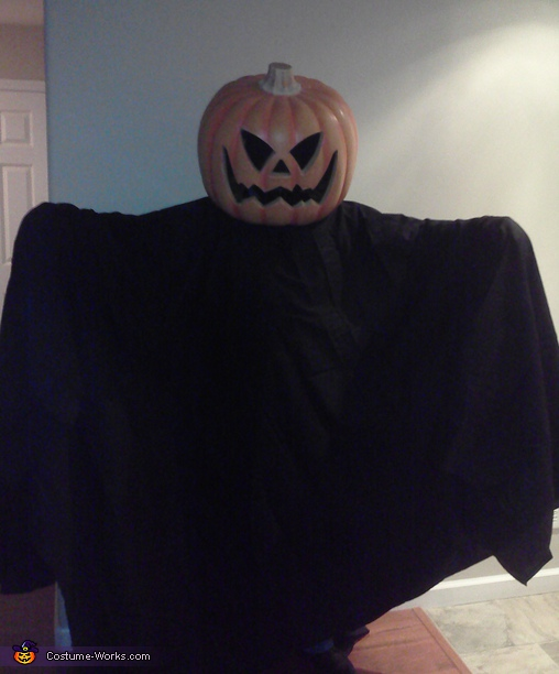 Jack-O-Lantern - Homemade costumes for adults